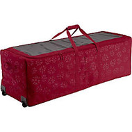 Classic Accessories Seasons Carrying Case (Rolling Duffel) for Artificial Tree - Cranberry