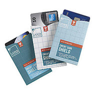 Lewis N. Clark RFID-Blocking Credit Card Shields, 3 1/2 inch; x 2 1/2 inch;, Assorted Colors, Pack Of 3