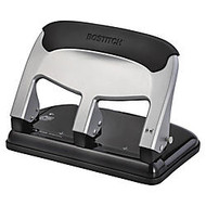 Bostitch; EZ Squeeze 3-Hole Punch, Black/Silver