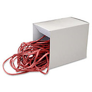 Alliance Rubber Can Bandz - Size: Medium - 12 inch; Length x 0.25 inch; Width - Reusable - 50 / Box - Red