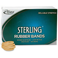Alliance Sterling Rubber Bands, #30 - Size: #30 - 2 inch; Length x 63 mil Width - 1500 / Box - Crepe