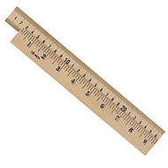 Learning Resources; Wood Meter Sticks, Brown, Pack Of 4