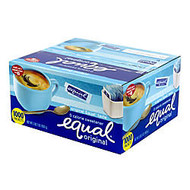 Equal; Original Sweetener, Box Of 1,000 Packets