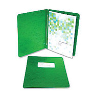 ACCO; Presstex; Binder, Side Bound, 11 inch; x 8 1/2 inch;, 60% Recycled, Dark Green