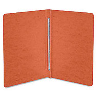 ACCO; Presstex; Binder, Side Bound, 11 inch; x 8 1/2 inch;, 60% Recycled, Red