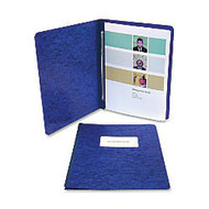 ACCO; Pressboard Binder With Fastener, Side Bound, 11 inch; x 8 1/2 inch;, 60% Recycled, Dark Blue