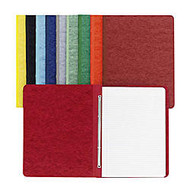 ACCO; Pressboard Binder With Fastener, Side Bound, 11 inch; x 8 1/2 inch;, 60% Recycled, Executive Red