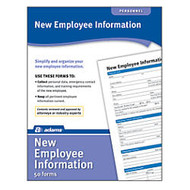 Adams; New Employee Information Forms