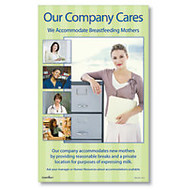 ComplyRight Breastfeeding At Work Poster, English, 10 inch; x 16 inch;