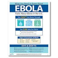 ComplyRight Ebola Awareness Poster, English, 18 inch; x 24 inch;