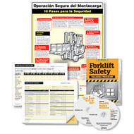 ComplyRight Forklift Training Compliance Bundle, English/Spanish, 18 inch; x 24 inch;