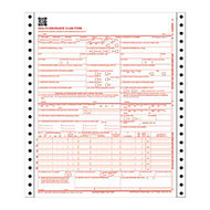 Adams; Health Insurance Claim Form, 2-Part, 8 1/2 inch; x 11 inch;, 100 Sets