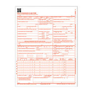 Adams; Health Insurance Claim Forms, 8 1/2 inch; x 11 inch;, White, Pack Of 100