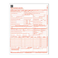 Adams; Health Insurance Claim Forms, 8 1/2 inch; x 11 inch;, White, Pack Of 250