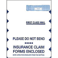 CMS Health Insurance Jumbo Envelopes, Box Of 500