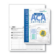 ComplyRight 1095-B Inkjet/Laser Tax Forms With Envelopes, ACA Software, 8 1/2 inch; x 11 inch;, Pack Of 50 Forms