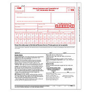 ComplyRight 1096 Transmittal Tax Forms, 8 1/2 inch; x 11 inch;, Pack Of 10 Forms
