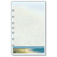 Day-Timer; Organizer Accessory, Coastlines; Note Pads, 5 1/2 inch; x 8 1/2 inch;, 24 Sheets Per Pad, Pack Of 2