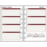 Day Runner; Express; 60% Recycled Planning Pages, 8 1/2 inch; x 11 inch;, 2 Pages Per Month, January-December 2014