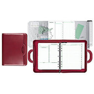 Day-Timer; Attaché Organizer, Red