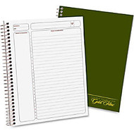 Ampad Gold Fibre™ Classic Project Planner, 7 1/4 inch; x 9 1/2 inch;, Green, Undated