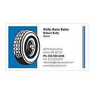 2-Color Textured-Print Business Cards, Traditional, 80 Lb. White Laid, 4/0, 3 1/2 inch; x 2 inch;, Box Of 250