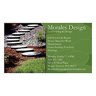 Full Color Business Cards, 14 Pt., 4/4, 3 1/2 inch; x 2 inch;, Matte, Box Of 250
