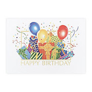 All Occasion Cards, 5 5/8 inch; x 7 3/4 inch;, Birthday Bash, Box Of 25
