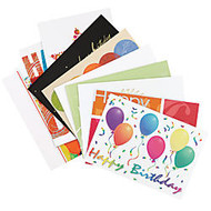 All-Occasion Assortment Pack, 7 7/8 inch; x 5 5/8 inch;, Birthday, Pack Of 50