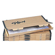Safco; Art & Drawing Portfolio, 1 1/2 inch;H x 38 1/8 inch;W x 24 3/4 inch;D, Tropic Sand, Carton Of 5