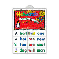 Barker Creek; Magnets, Learning Magnets;, High Frequency Words Set, Grades Pre-K+, Pack Of 208