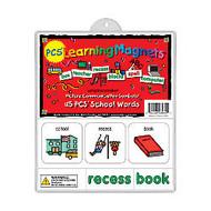 Barker Creek; Magnets, Learning Magnets;, PCS; School Words Set, Grades Pre-K+, Pack Of 90