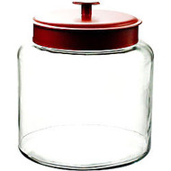 Anchor 1.5 Gal Montana Jar With Red Lid