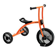 Winther Circleline Tricycle, Large, 28 inch;H x 22 7/8 inch;W x 36 1/4 inch;D, Orange