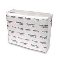 Cascades; for ServOne™ Twin Pack Napkins, White, 12 5/8 inch; x 8 1/2 inch;, 376 Napkins Per Sleeve