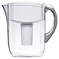 Brita; 10-Cup Grand Water Filter Pitcher, White