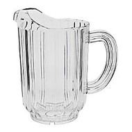 Rubbermaid; Bouncer Plastic Pitcher, 60 Oz, Clear