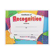 Trend Certificate of Recognition - 8.50 inch; x 11 inch;