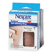 3M™ Nexcare™ Coban™ Self-Adherent Bandages, 3 inch;x 5 Yd. Stretched, Tan