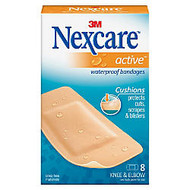3M™ Nexcare™ Extra Cushion Knee/Elbow Bandages, 1 7/8 inch; x 4 inch;, Pack Of 8