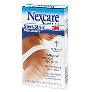 3M™ Nexcare™ Ster-strip Adhesive Strips, Box Of 18