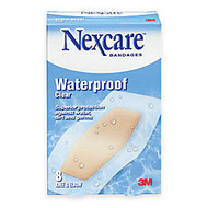 3M™ Nexcare™ Waterproof Bandages, 2 3/8 inch; x 3 1/2 inch;, Pack Of 8