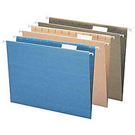 Earthwise; Pendaflex; 100% Recycled Hanging File Folders, Letter Size, Blue, Pack Of 25