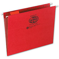 Earthwise; Pendaflex; Hanging File Folders, Letter Size, Red, Pack Of 25
