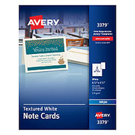 Avery; Confetti-Textured Heavyweight Note Cards, 4 1/4 inch; x 5 1/2 inch;, Pack Of 50