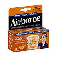 Airborne; Tablets, Orange, Pack Of 10