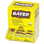 Bayer; Aspirin, 2-Tablet Dosage, Box Of 50 Packets