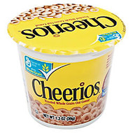 Cheerios; Cereal-In-A-Cup, 1.3 Oz, Box Of 6