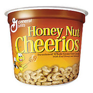 Honey Nut Cheerios; Cereal-In-A-Cup, 1.83 Oz, Pack Of 6