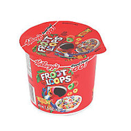 Kellogg's; Froot Loops Cereal-In-A-Cup, 1.5 Oz., Pack Of 6